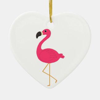 Flamenco rosado adornos