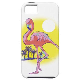 Flamenco rosado iPhone 5 cobertura