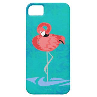Flamenco rosado iPhone 5 carcasas