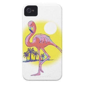 Flamenco rosado iPhone 4 coberturas