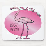Flamenco rosado Mousepad Alfombrilla De Raton