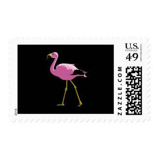 Flamenco rosado timbres postales