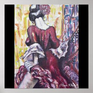 Flamenco Spirit Poster