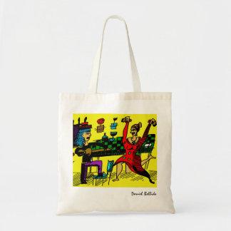 Flamenco stock market tote bag