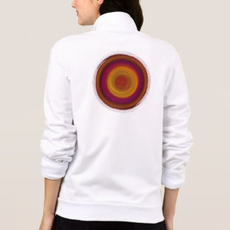 Flamenco Twirl Kaleidoscope Mandala Jackets