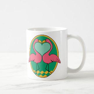 Flamencos del amor tazas de café
