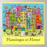 Flamencos en casa poster
