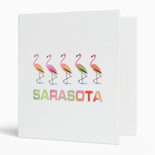 Flamencos que marchan Sarasota