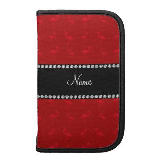 Flamencos rojos conocidos personalizados organizadores