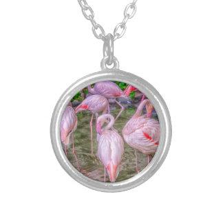 Flamencos rosados joyeria personalizada