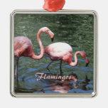 Flamencos rosados ornamento de reyes magos