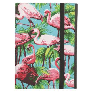 Flamencos rosados retros frescos
