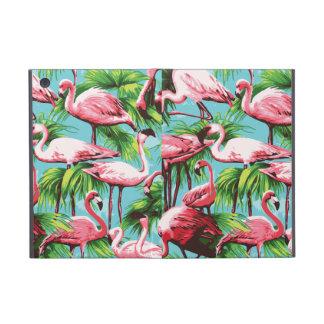 Flamencos rosados retros frescos iPad mini protector