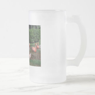 flamencos taza de cristal