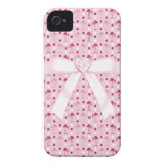 Flamencos y caso rosados del iPhone 4/4S de la joy iPhone 4 Case-Mate Cobertura