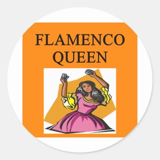 flameno queen stickers