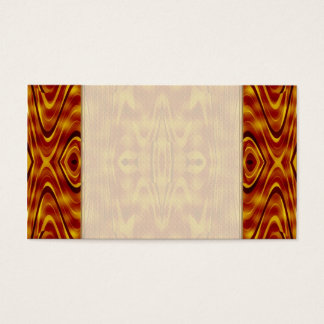 Flames Abstract Business Card