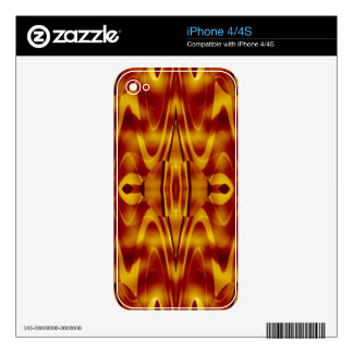 Flames Abstract Skins For The iPhone 4