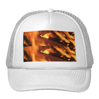 Flames and FIre Mesh Hats