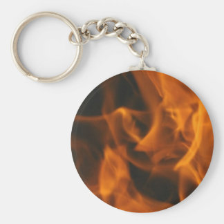 Flames and FIre Keychain