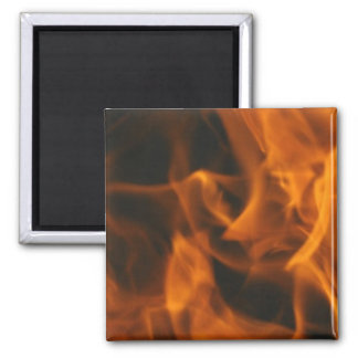 Flames and FIre Magnet