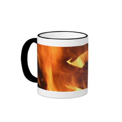 Flames and FIre Mugs