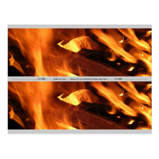 Flames and FIre Postcard