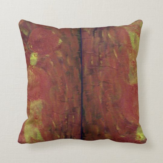 Flames And Fire Throw Pillow