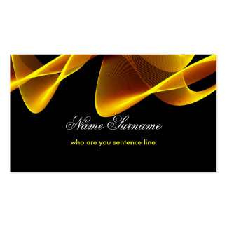 flames business card standard business cards