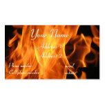 Flames Business Card