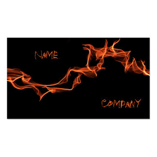 Flames Custom Personalized Double-Sided Standard Business Cards (Pack Of 100)
