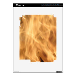 Flames Decal For iPad 3