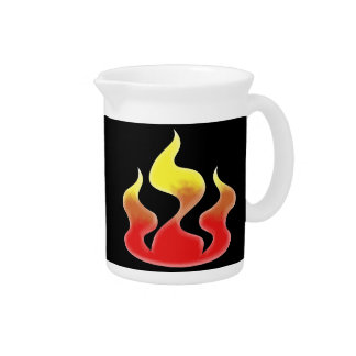 Flames Drink Pitchers
