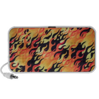 Flames Fire Customize add Name or Text Mini Speaker