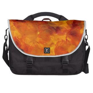 Flames Fire Designer Dramatic Flames Design Laptop Bags