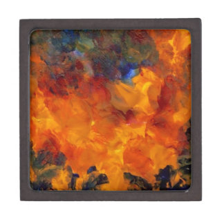 Flames Fire Designer Dramatic Flames Design Premium Gift Boxes