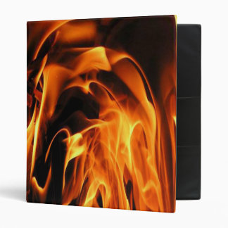 Flames galore 3 ring binder