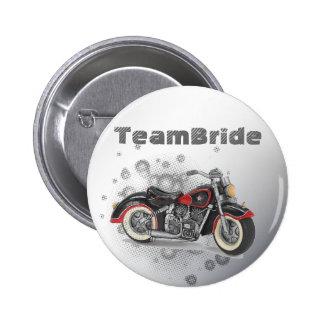 Flames Heart Rock N Roll Biker WeddingFavor Pin