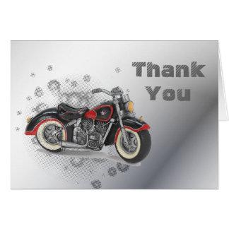 Flames Heart Rock N Roll Biker WeddingFavor Stationery Note Card