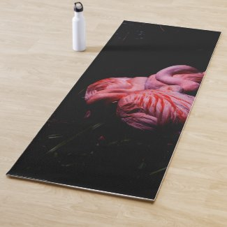 Flames in the Darkness Yoga Mat