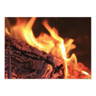 Flames Invitation
