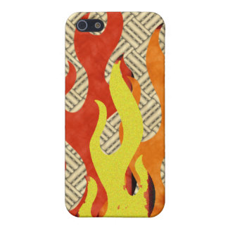 FLAMES iPhone SE/5/5s COVER
