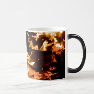 flames magic mug