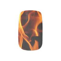 Flames Minx Nail Wraps