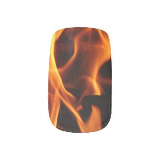 Flames Minx® Nail Wraps