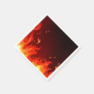 Flames Napkin