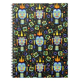 Flames Notebook