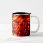 Flames of Fire Coffee Mug