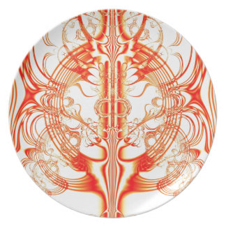 Flames of Glory Dinner Plate