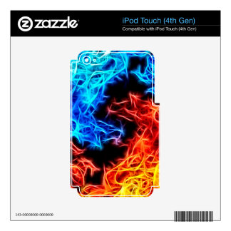 flames of good and evil decals for iPod touch 4G